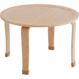 """ECR4Kids® 30"""" Round Bentwood Play Table - 18"""" Legs"""