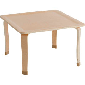 """ECR4Kids® 30"""" Square Bentwood Play Table - 20"""" Legs"""