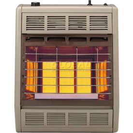 Empire Infrared Heater SR18NAT Natural Gas 18000 BTU - Manual Control 3 Settings