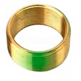 "Watco 38104 Brass Adapter Bushing, Converts from 1-5/8"" - 16 Thread to 1-7/8"" - 14 Thread, Orange"