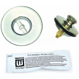 Watco 48300-CP-WB Nufit Lift & Turn Tub Closure, Chrome Plated, Watco Bonding Strip