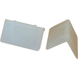 """Encore EP-5620-USA Edge Protector Poly, White, 1-7/8"""" x 1"""", 1000/Pack"""
