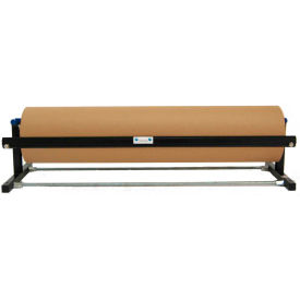 "Kraft Paper Dispenser with Serrated Blade Holds 48"" Width Material"