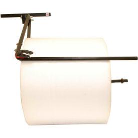 """Bubble/Foam/Poly Dispenser, Wall Mount Unit, Single Arm W/ Slide Cutter, 36"""" Material Width"""