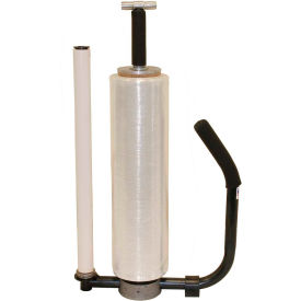 """Stretch Wrap Dispenser T-Handle for Thin Gauge 12"""" - 20"""" Roll Width"""