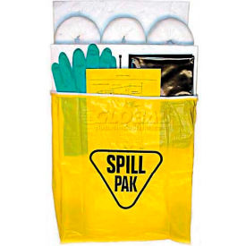 Econo Spill Kit, Oil Only, Up To 5 Gallon Capacity