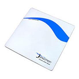 "Ergotron® Mouse Pad, 7"" x 7"" White/Blue"