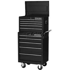 """Extreme Tools 26"""" 7 Drawer Top Chest and 5 Drawer Roller Cabinet Combo in..."""