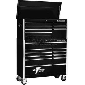 "Extreme Tools 41"" 8 Drawer Top Chest & 11 Drawer Roller Cabinet Combo in..."