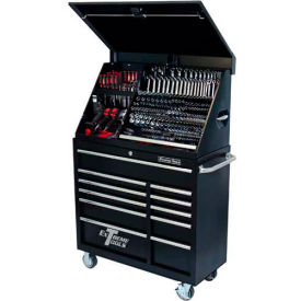 "Extreme Tools 41"" Extreme Portable Workstation & Roller Cabinet Combo in..."