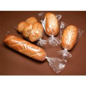 "Gusset 1 Mil Clear Ldpe Poly Bags 6""W x 3-1/2""D x 18""L, Pkg Qty 1,000"