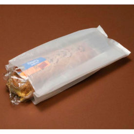 """#8 Counter Pack Bags 14""""L x 6""""W x 3.5""""D White 1,000 Pack"""
