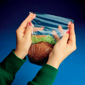 Flip-Top Sandwich Bags Low Density 7 x 7 0.85 Mil, Package Count 1000 by