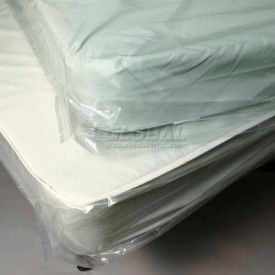 """Low Density Pillow-Top Style Mattress Bag with Vent Holes - King, 76"""" x 14"""" x 90"""", Pkg Qty 25"""
