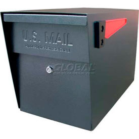 Mail Boss Locking Security Curbside Mailbox Black