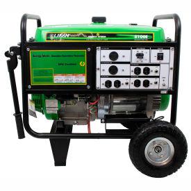 Lifan Power USA ES8100E-CA, 7500 Watts, Portable Generator, Gasoline, Electric/Recoil Start,120/240V