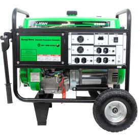Lifan Power USA ES8250E, 7500 Watts, Portable Generator, Gasoline, Electric/Recoil Start, 120/240V