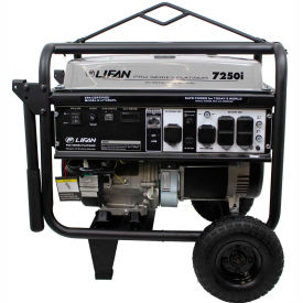 Lifan Power USA LF7250iPL, 6500 Watts, Portable Generator, Gasoline, Recoil Start, 120/240V