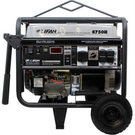 Lifan Power USA LF8750iEPL-RV-CA, 8000 Watts, Portable Generator, Gas,Electric/Recoil Start,120/240V