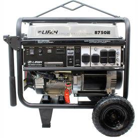 Lifan Power USA LF8750iEPL, 8000 Watts, Portable Generator, Gasoline, Electric/Recoil Start,120/240V