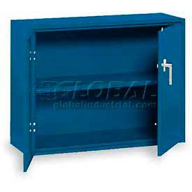 "Equipto Handy Cabinet w/1 Shelf, 30""W x 13""D x 27""H, Textured Regal Blue"