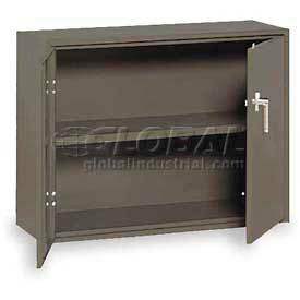 """Equipto Handy Cabinet, 36""""W x 13""""D x 27""""H, Smooth Office Gray"""