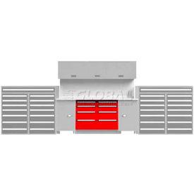 "EB Modular Drawer Cabinet (1 unit) 22-1/2""W, Green"