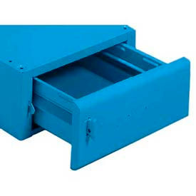 Equipto® Drawer For Mounting Under Bench 221-BL, Starting Unit, Regal Blue