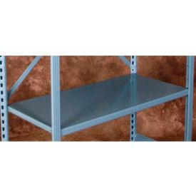 """Equipto V-Grip 20 Extra Shelf - 18"""" x 36"""", Smooth Office Gray"""