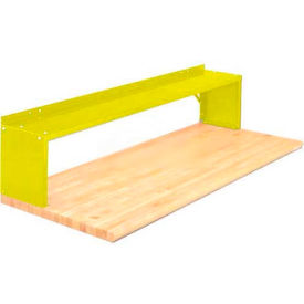 Equipto® Aerial Shelf For Bench 226-30-YL, Safety Yellow