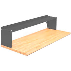Equipto® Aerial Shelf For Bench 226-60-GN, Evergreen