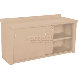 Closed Workbench w/Sliding Door - 4', Putty