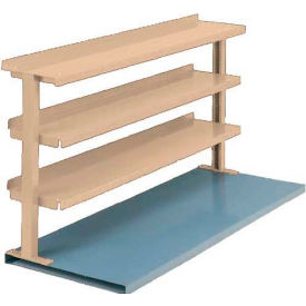 "Equipto® Production Booster 463T48-PY, 48""W X 36""H, 3 Shelves, Putty"