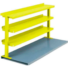 """Equipto® Production Booster 463T72-YL, 72""""W X 36""""H, Safety Yellow"""