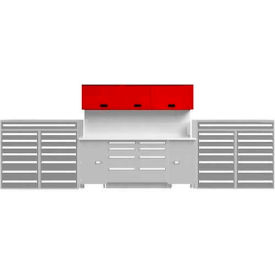 EB Upper Cabinet System-(1)TBU-4GS and (1)TBU-MGS, Putty