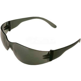 IProtect® Safety Glasses, ERB Safety 17941 - Smoke Frame, Smoke Lens - Pkg Qty 12