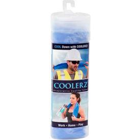 "ERB™ 21560, Coolerz Cooling Towel, Blue, 25-1/2"" x 17"" - Pkg Qty 10"