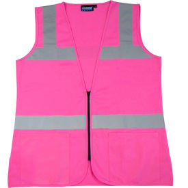Aware Wear® S721 Non-ANSI Female Vest, 61913, Pink, 2XL