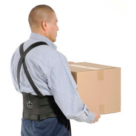 Ergodyne® ProFlex® 1650 Economy Elastic Back Support, Black, 3XL
