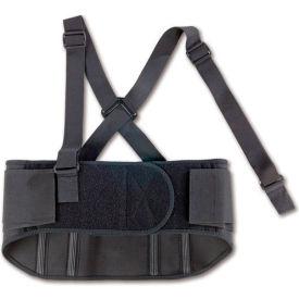 Ergodyne® ProFlex® 1600 Standard Elastic Back Support, Black, XL