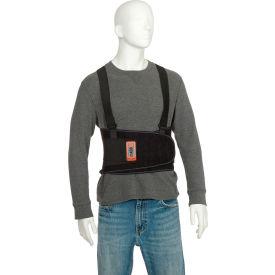 Ergodyne® ProFlex® 1400 Universal Size Back Support, Black, One Size