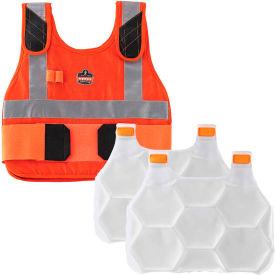Ergodyne® Chill-Its® 6215HV Phase Change Cooling Vest, Orange, L/XL
