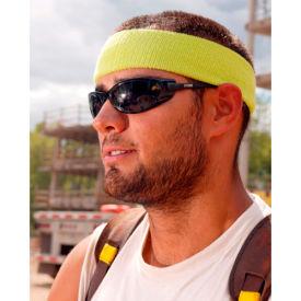 Ergodyne® Chill-Its® 6550 Head Sweatband, White, One Size - Pkg Qty 24