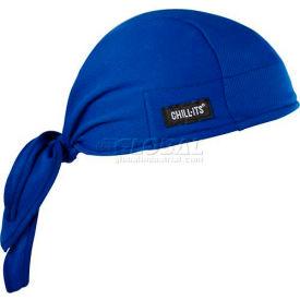 Ergodyne® Chill-Its® 6615 High-Performance Dew Rag, Blue, One Size