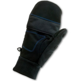 ProFlex® 816 Thermal Flip-Top Gloves, Black, X-Large