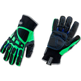 Ergodyne® ProFlex® 925F(x)WP Thermal Dorsal Impact-Reducing Gloves, Lime, Small