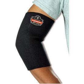 Ergodyne® 650 Neoprene Elbow Sleeve, Black, XL