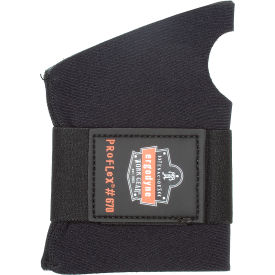 Ergodyne® ProFlex® 670 Ambidextrous Single Strap Wrist Support, Black, Small