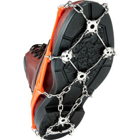 Ergodyne® TREX™ 6320 Aggressive Spike Ice Traction Device, Orange, XL, 1 Pair