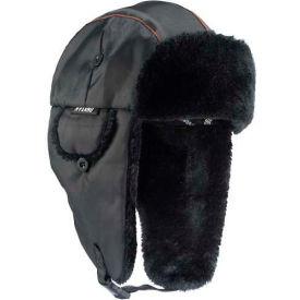 Ergodyne® N-Ferno® 6802 Classic Trapper Hat, L/XL, Black, 16845